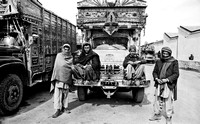 Afgan Truckers Men and Boy